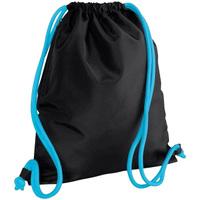 Malas Criança Saco de desporto Bagbase BG110 Preto / Azul Surf