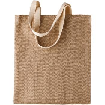 Malas Mulher Cabas / Sac shopping Kimood KI009 Natural/Cappucino
