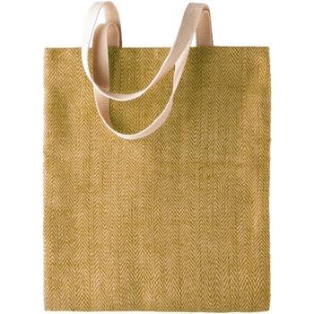 Malas Mulher Cabas / Sac shopping Kimood KI009 Verde natural/militar