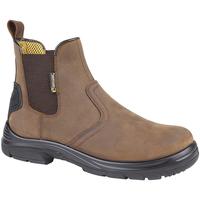 Sapatos Homem Botas baixas Grafters  Marrom Escuro