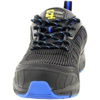 Sapatos Homem Sapato de segurança Grafters  PRETO/ AZUL