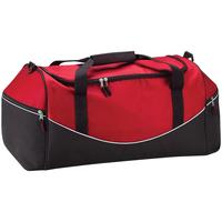 Malas Saco de desporto Quadra QS70 Clássico vermelho/preto/branco