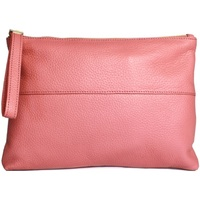 Malas Mulher Pouch / Clutch Eastern Counties Leather  Coral