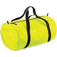 Malas Saco de viagem Bagbase BG150 Amarelo Fluorescente / Preto