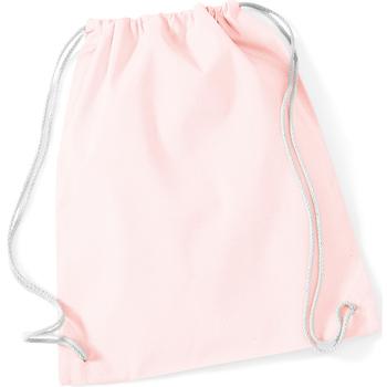 Malas Criança Saco de desporto Westford Mill W110 Pastel Cor-de-rosa/branco