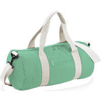 Malas Saco de viagem Bagbase BG140 Mint Green/Off White