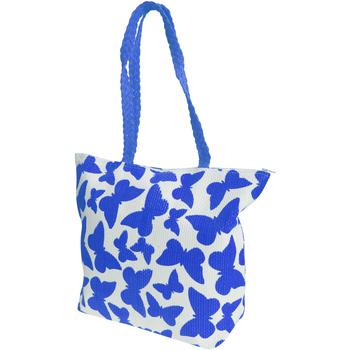 Malas Mulher Cabas / Sac shopping Floso  Branco/azul