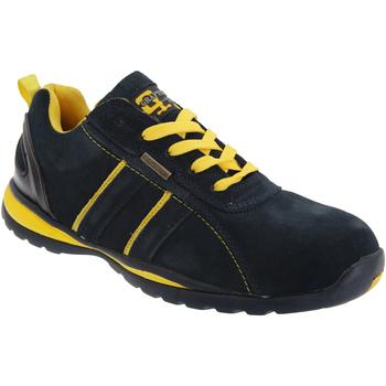 Sapatos Homem Sapatilhas Grafters  Azul marinho/amarelo