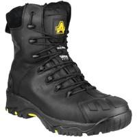 Sapatos Homem Sapato de segurança Amblers  Preto