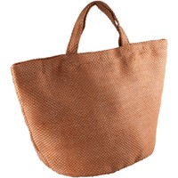 Malas Mulher Cabas / Sac shopping Kimood KI008 Natural/Saffron