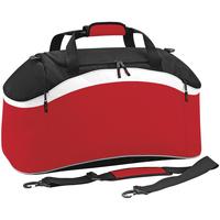 Malas Saco de desporto Bagbase BG572 Vermelho clássico/ Preto/ Branco