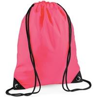Malas Criança Saco de desporto Bagbase BG10 Fluorescente Rosa