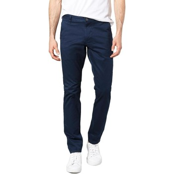 Textil Homem Chinos Dockers ALPHA ORIGINAL SKINNY PEMBROKE TWILL azul