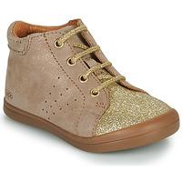 Sapatos Rapariga Botas baixas GBB NAHIA Bege / Ouro