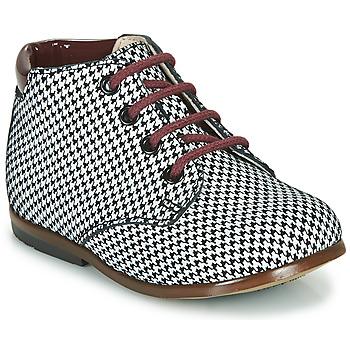 Sapatos Rapariga Botas baixas GBB TACOMA Preto / Branco