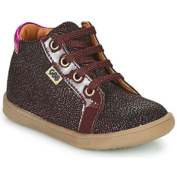 Sapatos Rapariga Sapatilhas de cano-alto GBB FAMIA Bordô