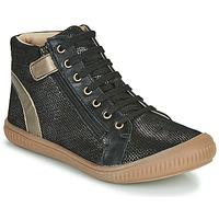 Sapatos Rapariga Sapatilhas de cano-alto GBB RACHIDA Preto