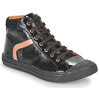 Sapatos Rapariga Sapatilhas de cano-alto GBB VIVENA Preto