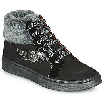 Sapatos Rapariga Sapatilhas de cano-alto GBB NUMA Preto