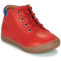 Sapatos Rapaz Botas baixas GBB TIDO Vermelho