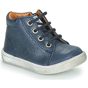 Sapatos Rapaz Botas baixas GBB FOLLIO Azul