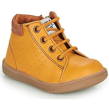 Sapatos Rapaz Botas baixas GBB FOLLIO Amarelo