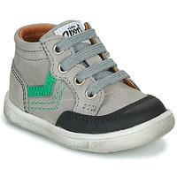 Sapatos Rapaz Sapatilhas de cano-alto GBB VIGO Cinza