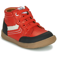 Sapatos Rapaz Sapatilhas de cano-alto GBB VIGO Vermelho