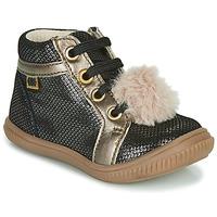 Sapatos Rapariga Sapatilhas de cano-alto GBB ISAURE Preto