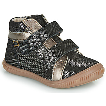 Sapatos Rapariga Sapatilhas de cano-alto GBB EDEA Preto