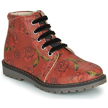 Sapatos Rapariga Botas baixas GBB NAREA Vermelho