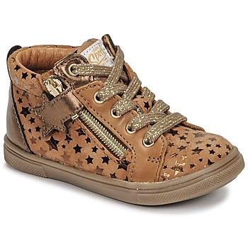 Sapatos Rapariga Sapatilhas de cano-alto GBB VALA Castanho