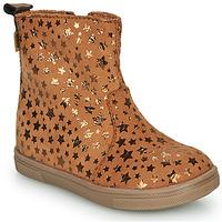 Sapatos Rapariga Botas baixas GBB ERNA Conhaque