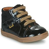 Sapatos Rapariga Sapatilhas de cano-alto GBB THEANA Preto