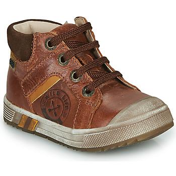 Sapatos Rapaz Sapatilhas de cano-alto GBB OLANGO Castanho