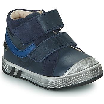 Sapatos Rapaz Sapatilhas de cano-alto GBB OMALLO Azul