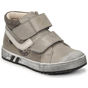 Sapatos Rapaz Sapatilhas de cano-alto GBB OMALLO Cinza
