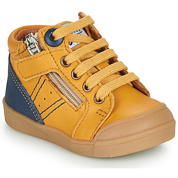 Sapatos Rapaz Sapatilhas de cano-alto GBB ANATOLE Amarelo
