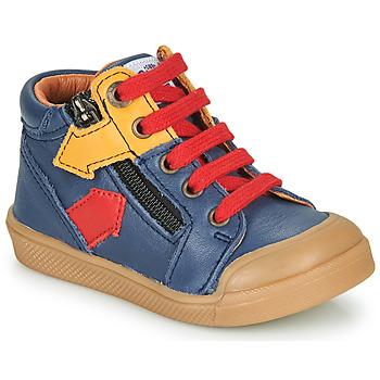 Sapatos Rapaz Sapatilhas de cano-alto GBB IONNIS Azul