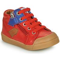 Sapatos Rapaz Sapatilhas de cano-alto GBB IONNIS Vermelho
