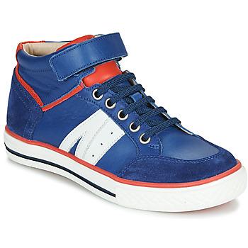 Sapatos Rapaz Sapatilhas de cano-alto GBB ALIMO Azul