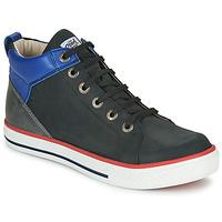 Sapatos Rapaz Sapatilhas de cano-alto GBB MERINO Preto
