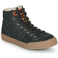 Sapatos Rapaz Sapatilhas de cano-alto GBB OSTRAVI Preto