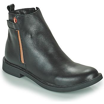 Sapatos Rapariga Botas baixas GBB XIANA Preto