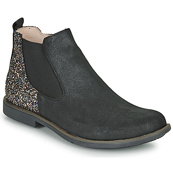 Sapatos Rapariga Botas baixas GBB NAKOVO Preto