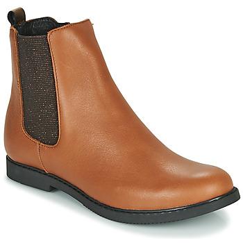 Sapatos Rapariga Botas baixas GBB ARANA Conhaque