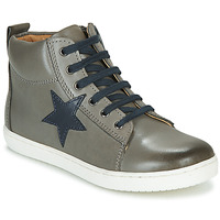 Sapatos Rapaz Sapatilhas de cano-alto GBB KANY Cinza