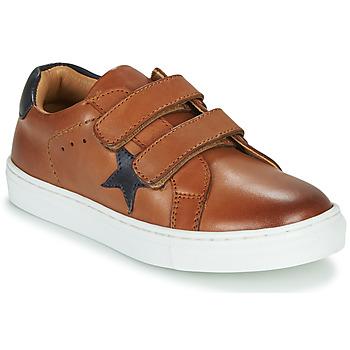 Sapatos Rapaz Sapatilhas GBB DANAY Castanho