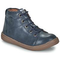 Sapatos Rapaz Sapatilhas de cano-alto GBB KELIG Azul