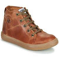 Sapatos Rapaz Sapatilhas de cano-alto GBB KELIG Castanho
